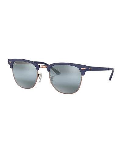 Men's Clubmaster® Metal Mirrored Sunglasses