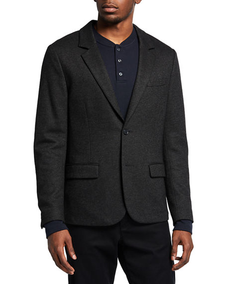Vince Men's Houndstooth Deconstructed Blazer
