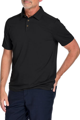 Fisher + Baker Men's Watson Solid Polo Shirt