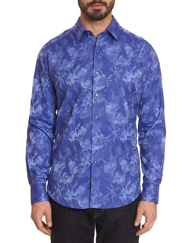 Men's The Rose Graphic Sport Shirt