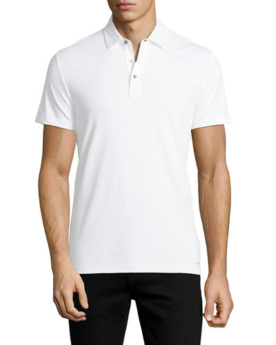 MK Sleek Cotton Polo Shirt