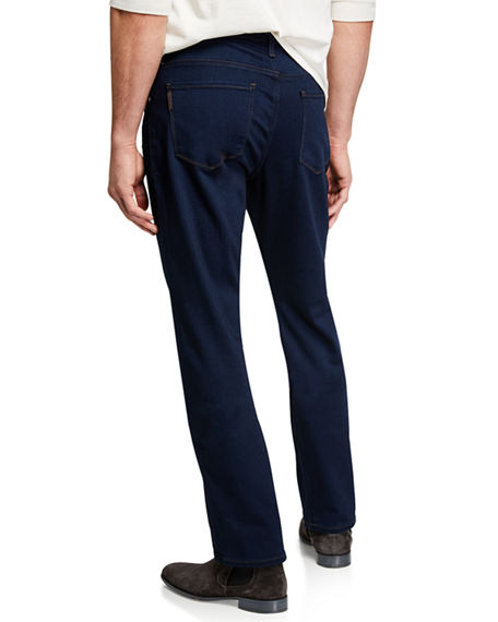 Image 2 of 3: PAIGE Men's Normandie Straight-Leg Denim
