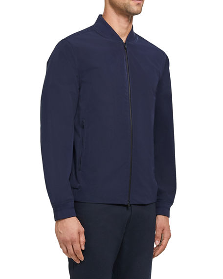 Image 2 of 4: Theory Men's Foundation Tech City Bomber Jacket