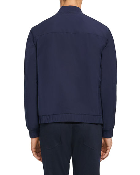 Image 3 of 4: Theory Men's Foundation Tech City Bomber Jacket