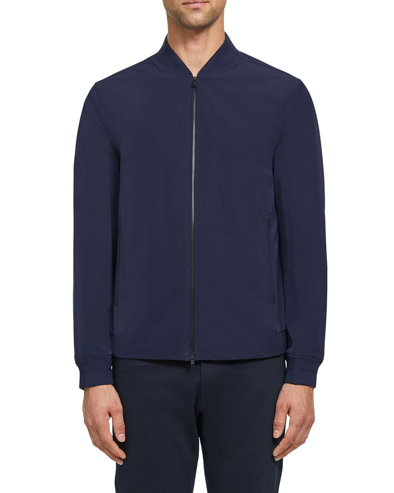 Theory Men's Foundation Tech City Bomber Jacket