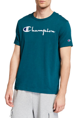 Champion Europe Men's Large Script Logo T-Shirt