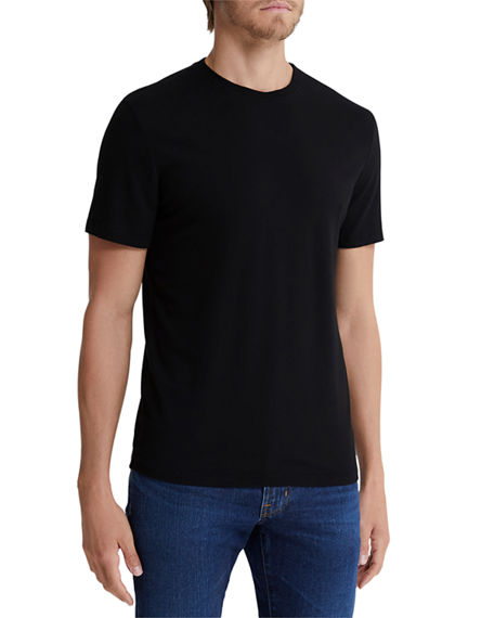AG Adriano Goldschmied Men's Bryce Solid Crewneck T-Shirt