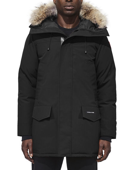 Canada Goose Men's Langford Arctic-Tech Parka Jacket with Fur Hood