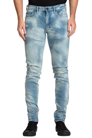 PRPS Men's Camden Bleached 5-Pocket Jeans