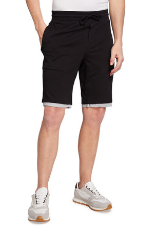 Vince Men's Double-Layer Drawstring Shorts