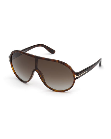 TOM FORD Men's BRENTON Aviator Sunglasses
