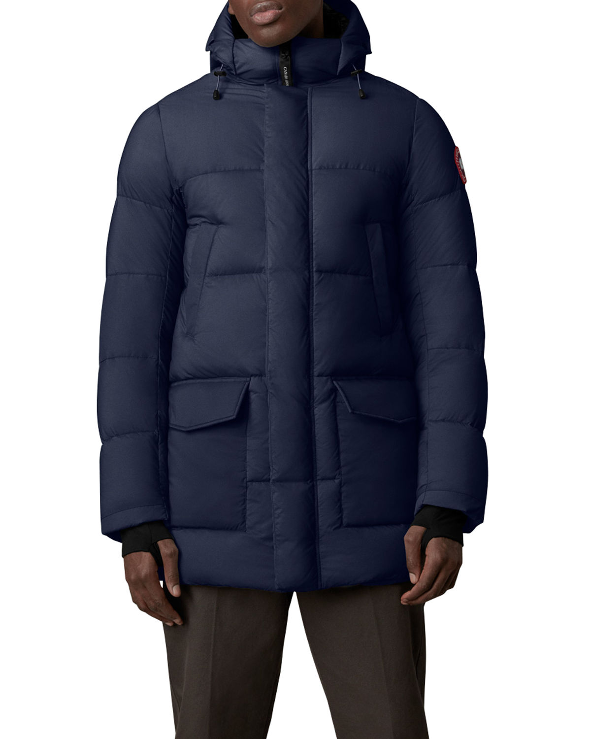 Men's Armstrong Solid Down Puffer Parka