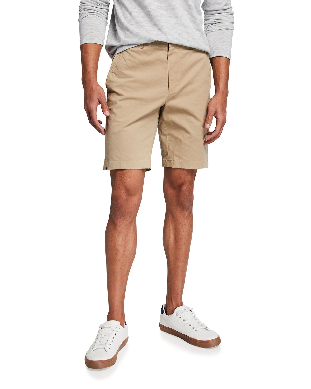 Vince Shorts MEN'S GRIFFITH LIGHTWEIGHT CHINO SHORTS