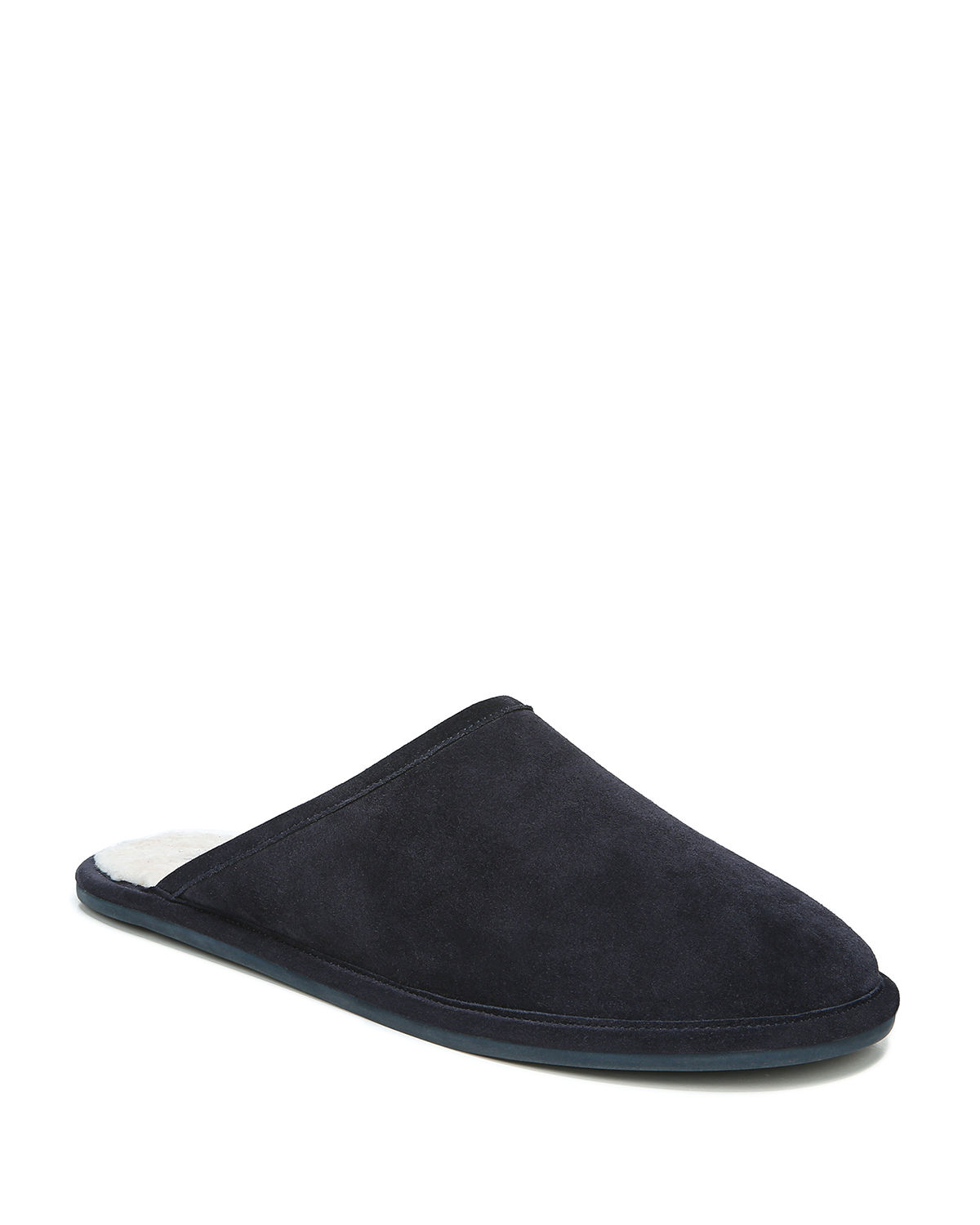 Men's Hampton Suede Shearling Lined Slippers