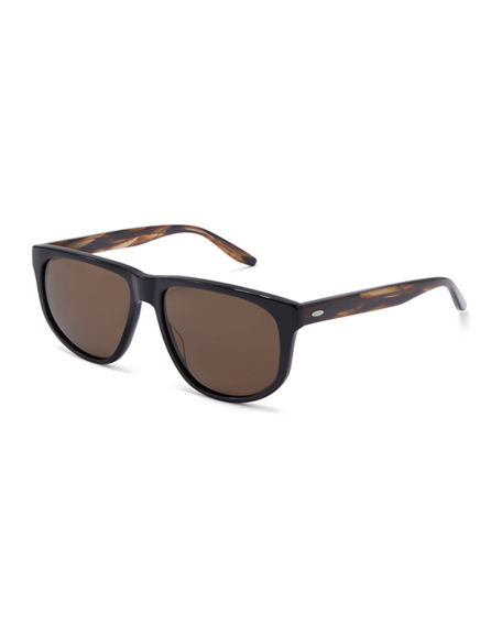 Barton Perreira Men's Lono Square Acetate Sunglasses