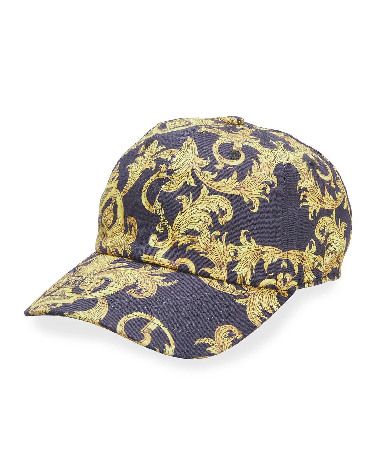 Versace Jeans Couture MEN'S BAROCCO-PRINT BASEBALL HAT