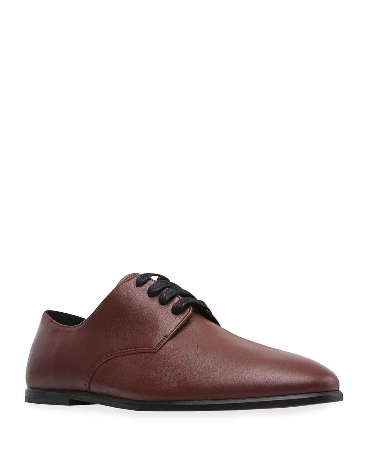 Men's Twins Leather Lace-Up Oxfords