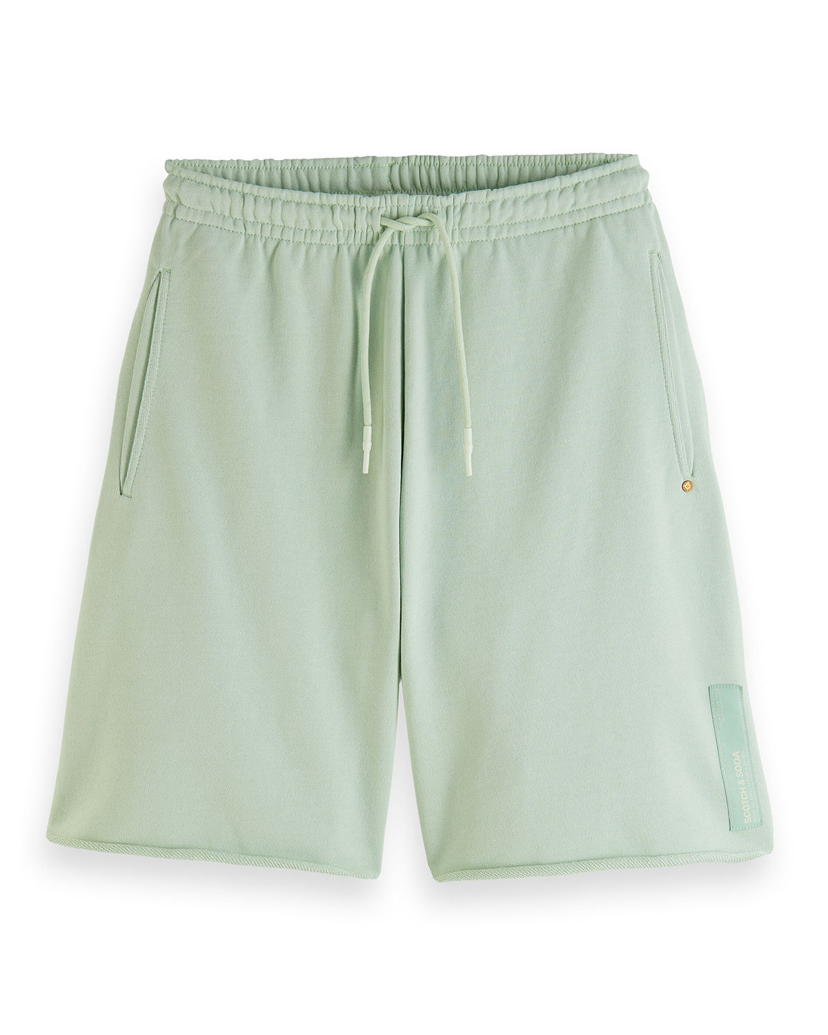 Scotch & Soda MEN'S ORGANIC COTTON FELPA SHORTS