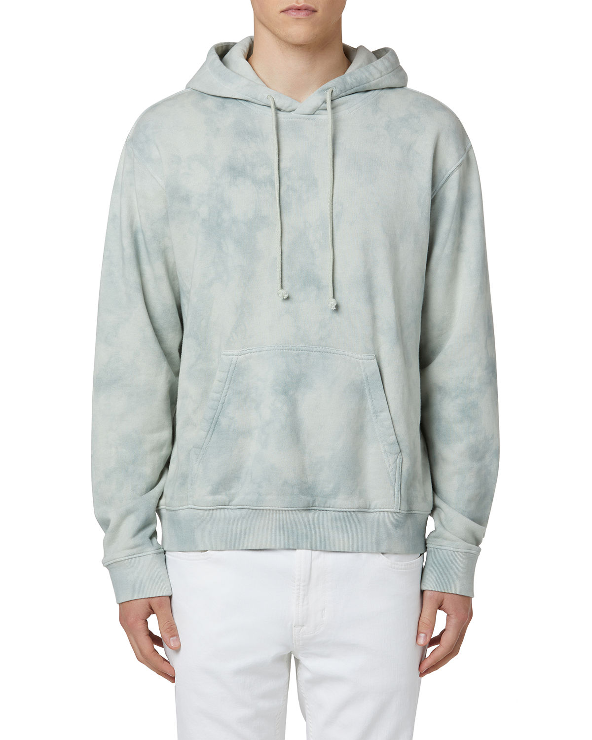 Men's Tie-Dye French Terry Pullover Hoodie