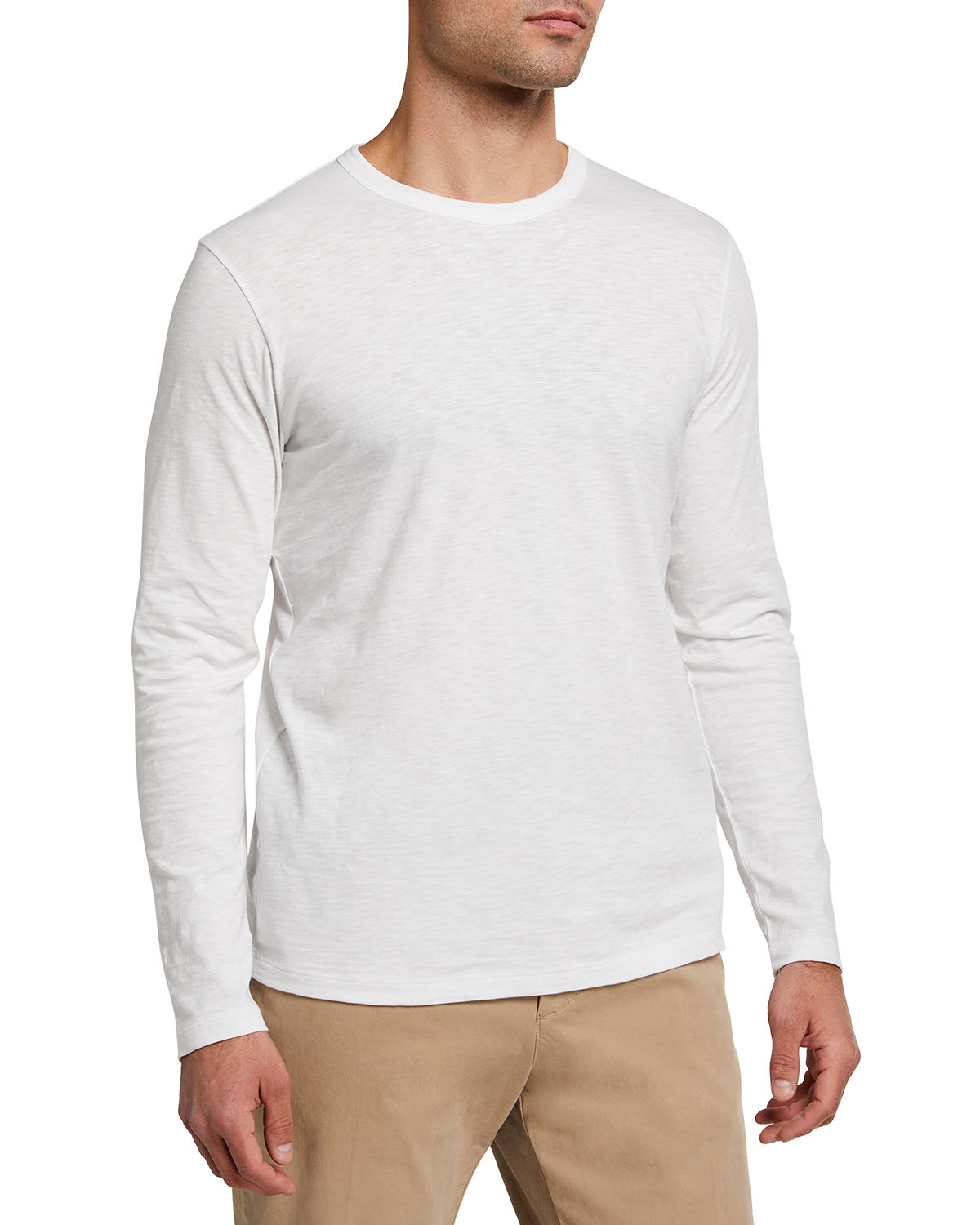 Theory MEN'S COSMOS ESSENTIAL LONG-SLEEVE T-SHIRT
