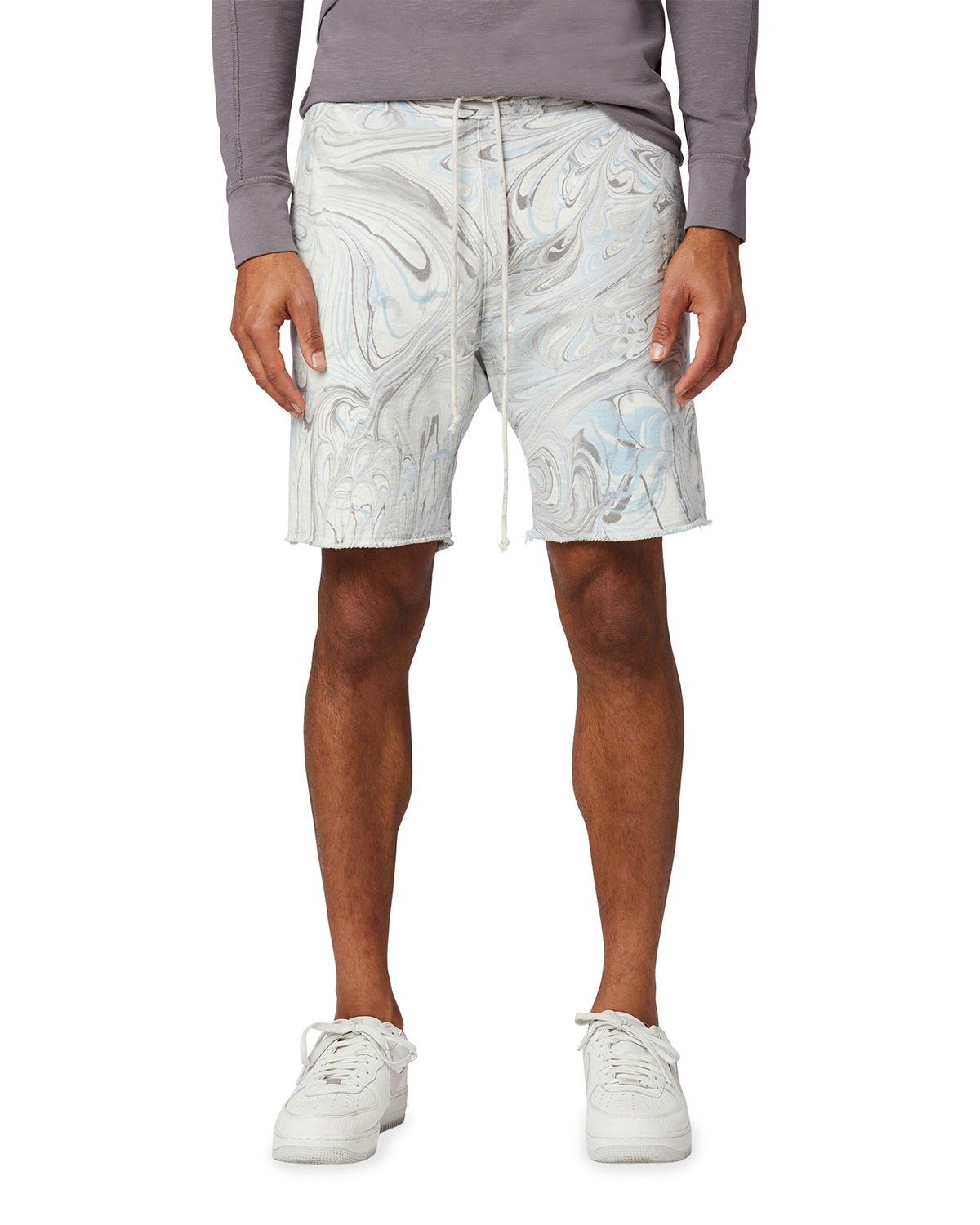 Men's Marble-Dyed French Terry Shorts