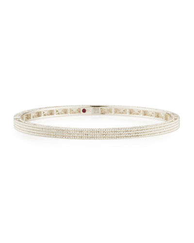 Symphony Collection 18K Gold Stacked Barocco Bangle
