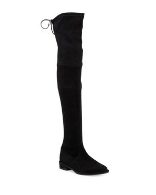 77a1726db74 Stuart Weitzman Lowland Suede Over-The-Knee Boot