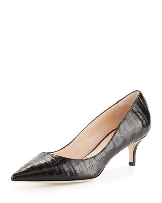 Image 1 of 4: Holly Crocodile 50mm Pump