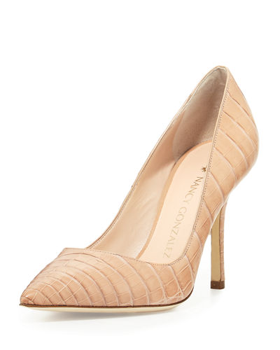 Holly Crocodile 90mm Pump