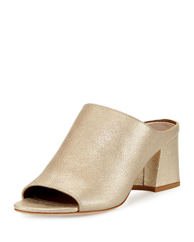 Donald J Pliner Ellis Low-Heel Mule Slide
