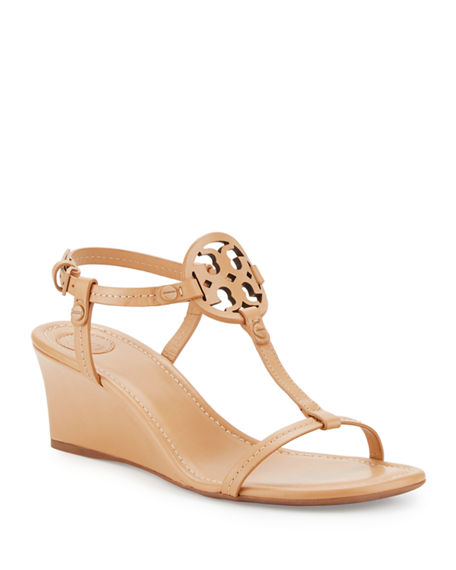 TORY BURCH Miller Logo 60Mm Wedge Sandal, Dusty Cypress