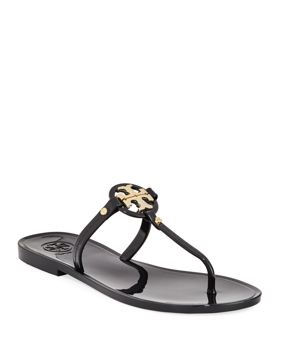 ec104c573d Tory Burch Mini Miller Flat Jelly Thong Sandals | Neiman Marcus