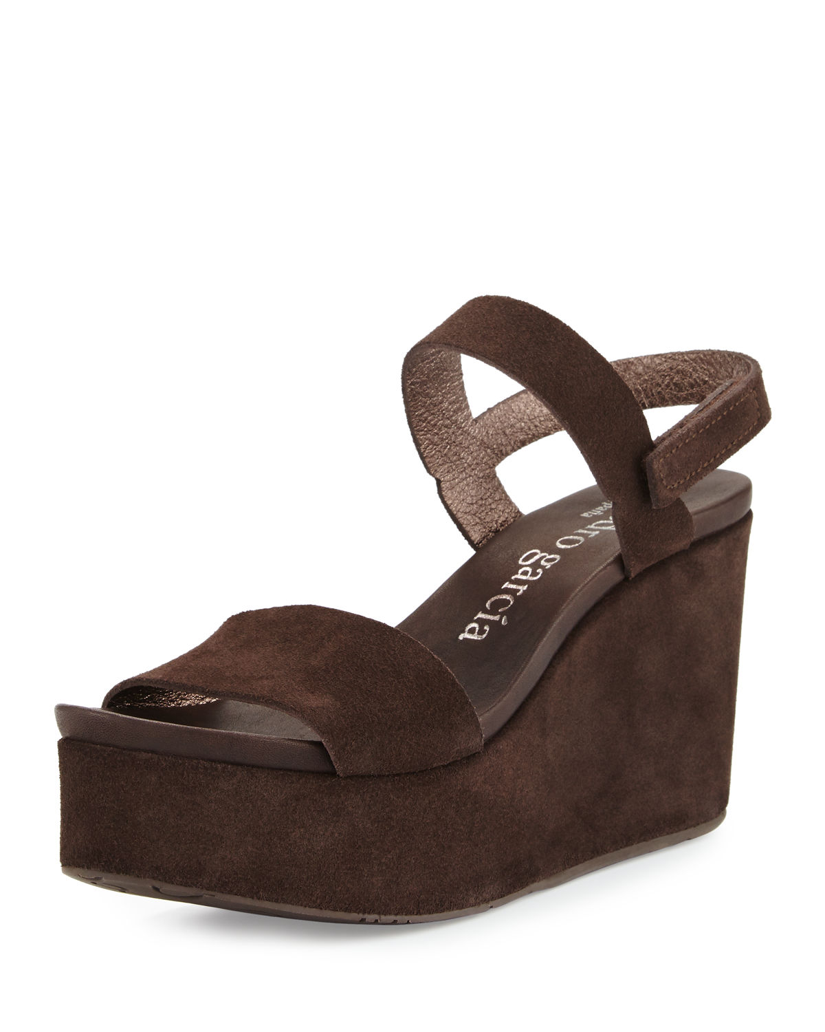 Dulce Suede Wedge Sandal
