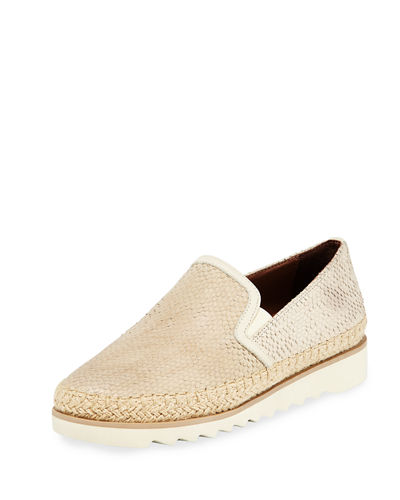 Millie Leather Slip-On Sneaker