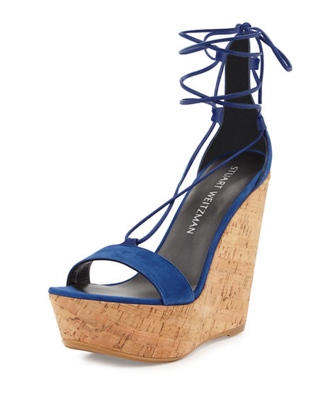 Stuart Weitzman Wrap It Suede Sandals free shipping very cheap sale find great ff0gJUl