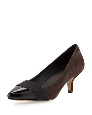 Donald J Pliner Gia Suede Pointed-Toe Pump