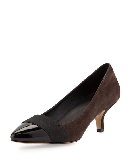 Jimmy Choo Abel Point-toe Patent Pump, Nude in Natural - Lyst