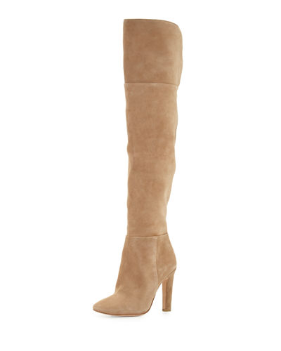 Joie Bentlee Suede Over-the-Knee Boot