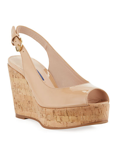 Jean Wedge Slingback