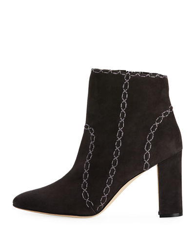 Rubio Suede 90mm Ankle Boot