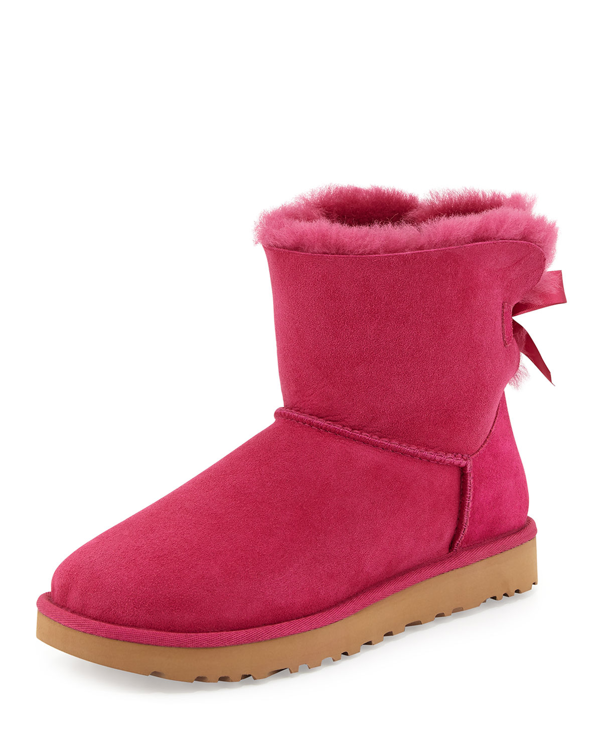 Mini Bailey Bow II Shearling Fur Boot