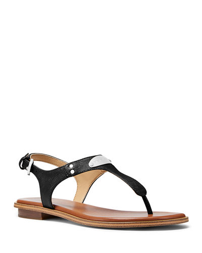 Plate Thong Sandals