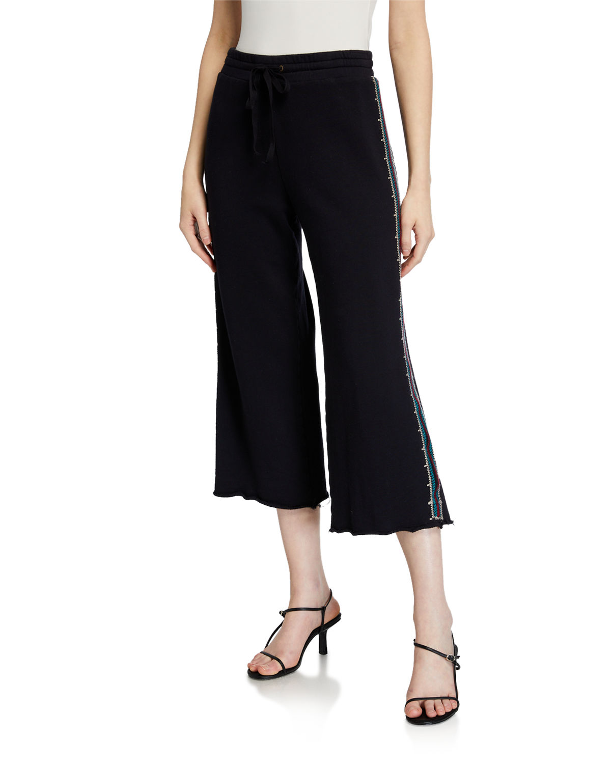 Johnny Was Kaira French Terry Crop Pants