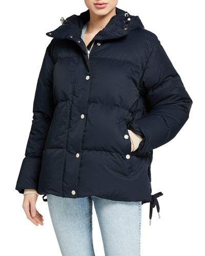 Leonard Hooded Puffer Coat