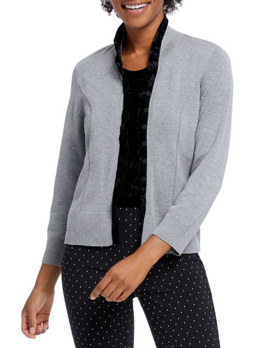 Party Button-Front Cardigan