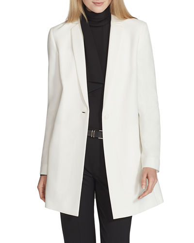 Jobelle Crepe One-Button Jacket