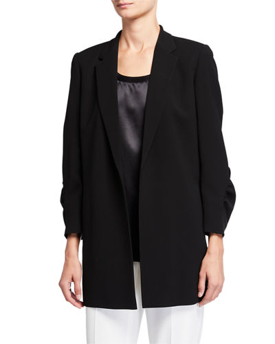 Plus Size Cole Finesse Crepe Jacket