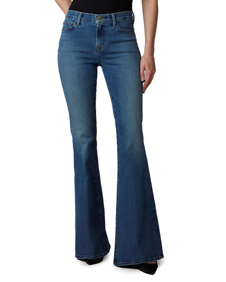 J Brand Valentina High-Rise Flare Jeans