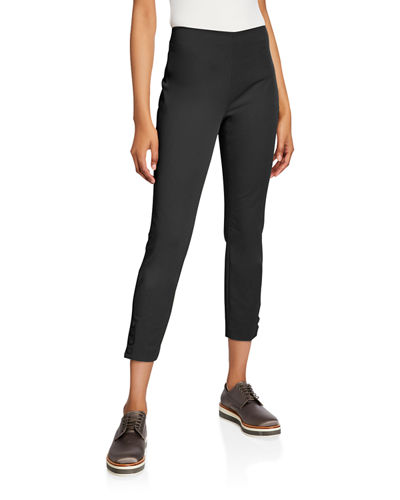 Theory Double-Stretch Snap Leggings