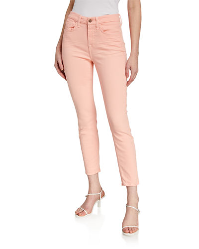Jen7 by 7 for All Mankind High-Rise Ankle Skinny Jeans